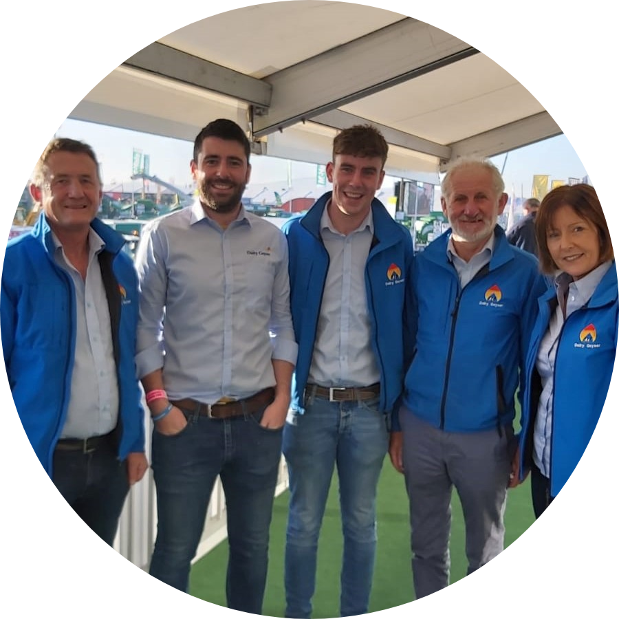The Dairy Geyser Team at the 2019 National Ploughing Championship